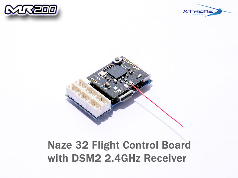 Nano 32 MX Flight Control Board w/ DSM 2 Rx  sc 1 st  Xtreme Production Official Web Site RC Helicopters Parts & Nano 32 MX Flight Control Board w/ DSM 2 Rx [MR200FC] - US$55.90 ...